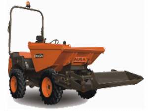 Ausa D250RM - 2,500 kg Rigid chassis