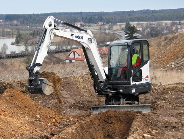 Excavators Archives - Border Bobcat Wales | bobcat loaders